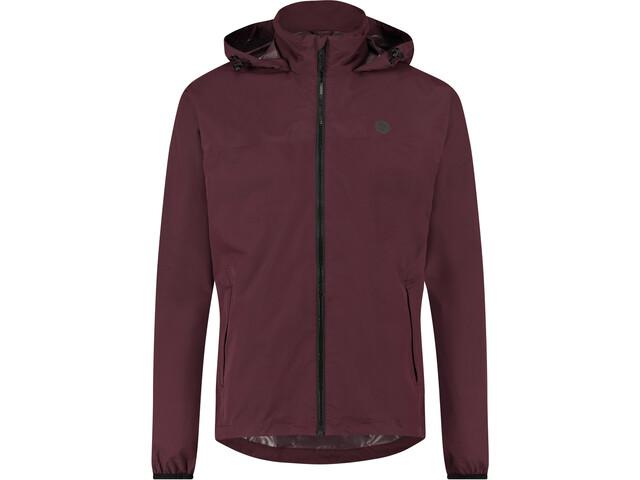 AGU Essential Go Rain Jacket, czerwony